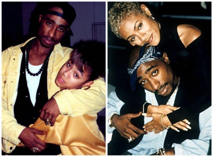 Uma amizade lendária, Tupac e a esposa de Will Smith, Jada Pinkett, eram inseparáveis
