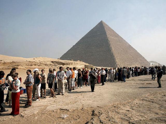 Você pode imaginar as pirâmides?