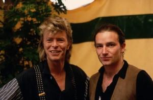 David Bowie e Bono Vox (U2)