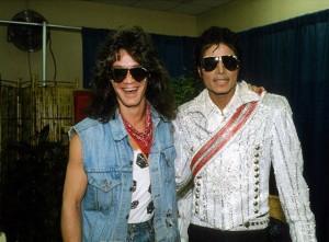 Eddie Van Halen (Van Halen) e Michael Jackson