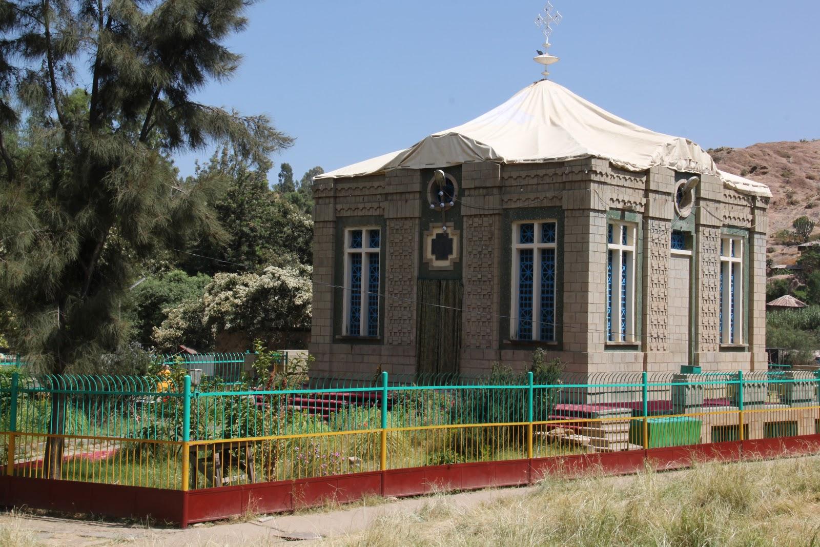 Capela da Arca da Aliança - Etiópia