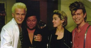 Billy Idol, Madonna e David Bowie
