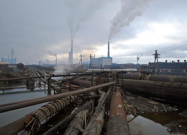 A cidade de Mezhgorye - Rússia