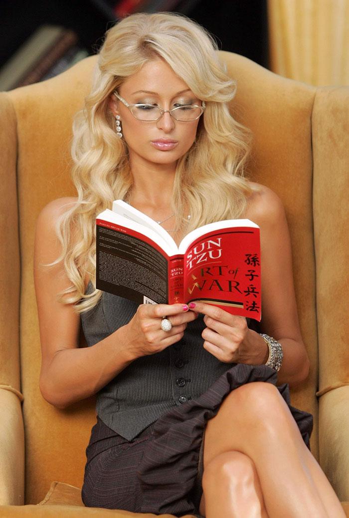 Paris Hilton - QI 135 - Inteligência Superior. Você duvidava?