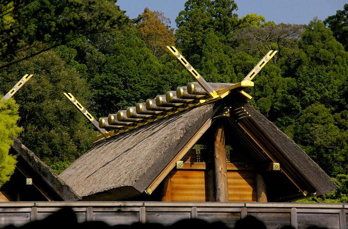Santuário de Ise - Japão.