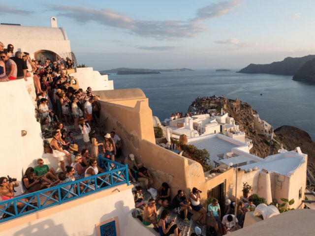 Como realmente se parece a Santorini?
