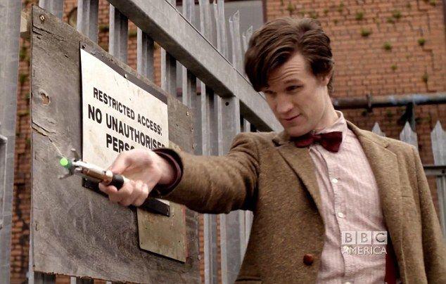 A Chave de Fenda Sônica - Doctor Who