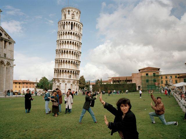 Como é estar na Torre de Pisa?