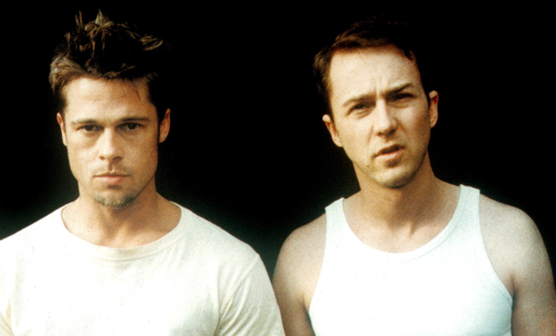 O Clube da Luta: Brad Pitt não sabia que Edward Norton lhe batería