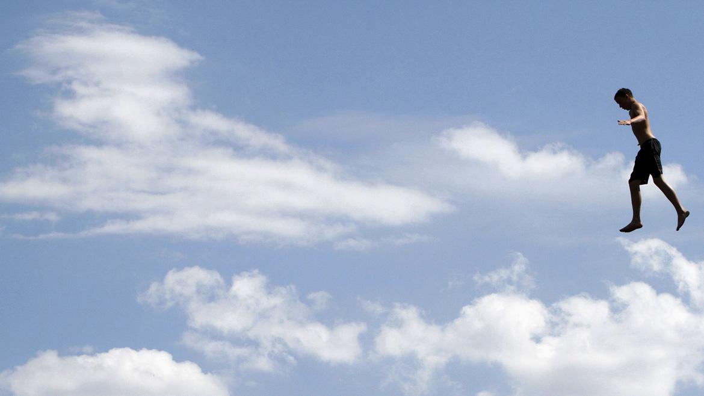 Andando entre as nuvens. Que inveja!