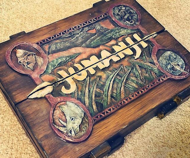 O jogo de mesa - Jumanji
