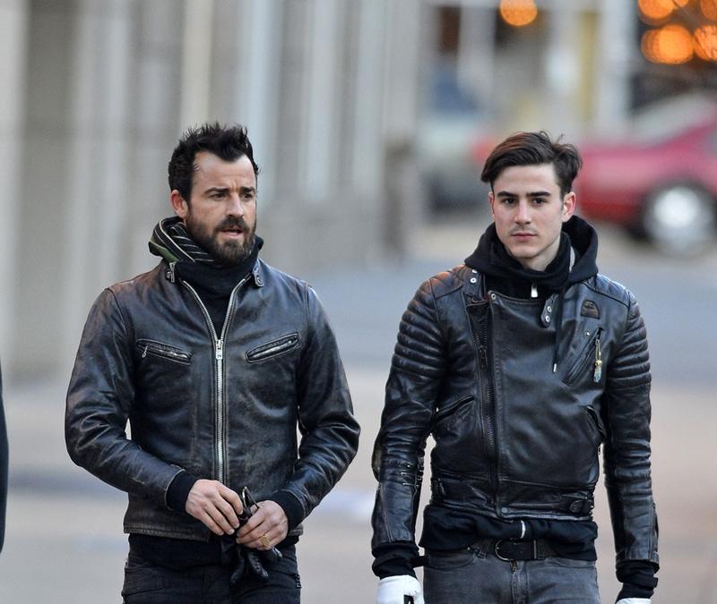 Justin e Sebastian Theroux