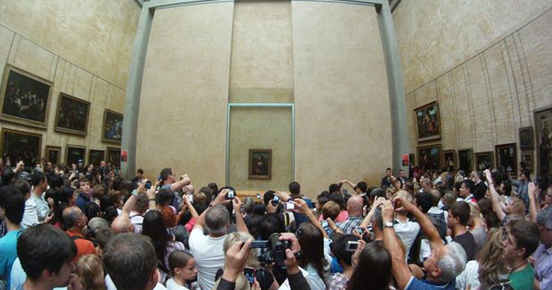 Museu do Louvre na vida real
