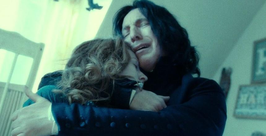 Somente Alan Rickman sabia a verdade sobre Snape entre o elenco