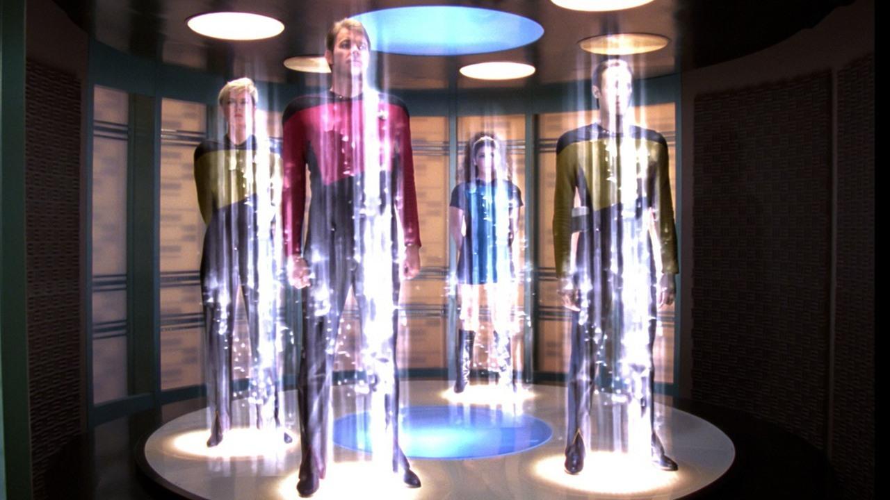 Teletransportador - Star Trek