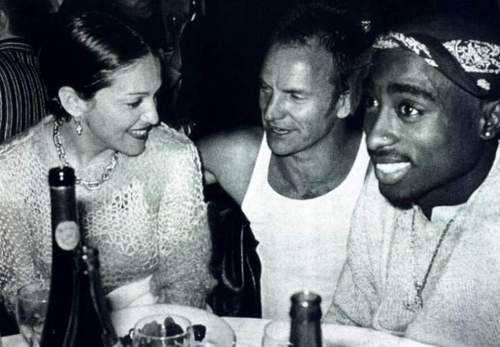 Madonna, Sting & Tupac Shakur