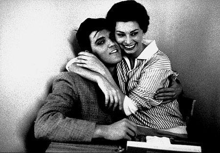 Sophia Loren e Elvis Presley se encontraram apenas uma vez
