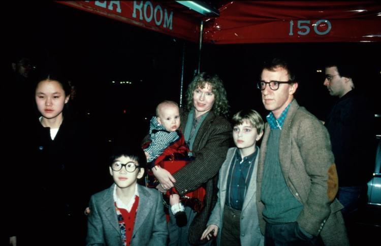 Woody Allen e a filha adotiva que se tornou sua esposa