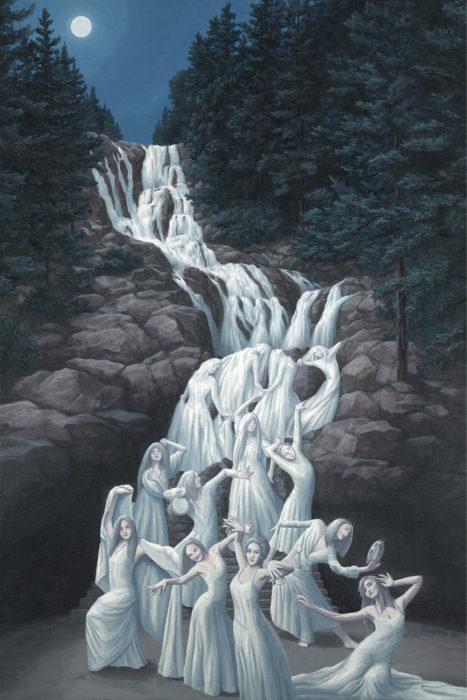 A ilusão ótica de Rob Gosalves é incrível!
