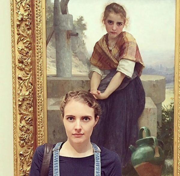 Cara a cara com o seu sósia no museu