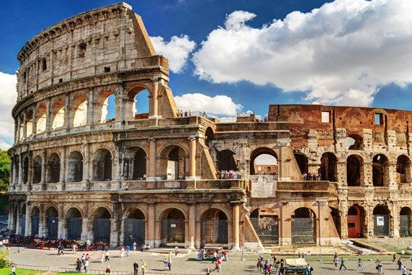 Certamente você sabe mais ou menos em qual país está Roma...