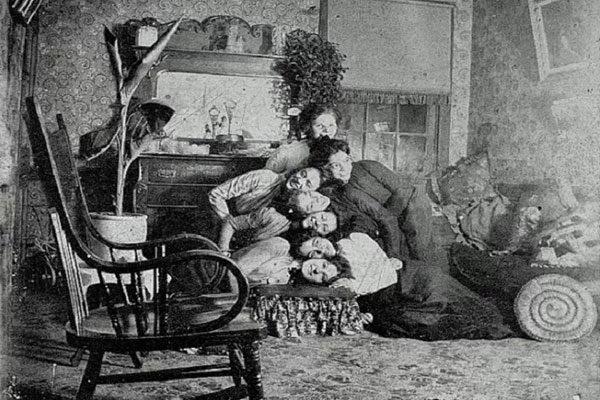 Uma fotografia familiar