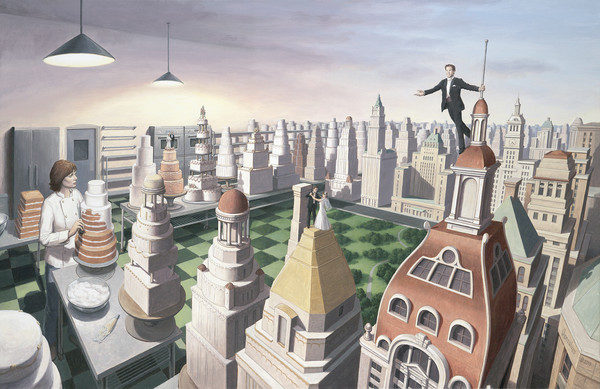 Rob Gonsalves brinca com a mente do espectador