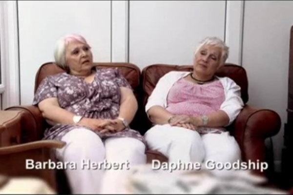 Barbara Herbert e Daphne Goodship