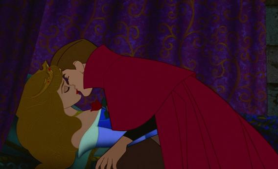 O beijo mais mágico, 'A Bela Adormecida'