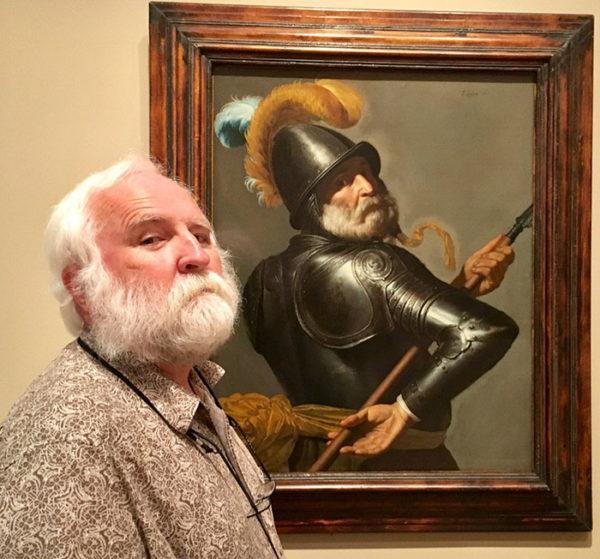 A experiência de ver-se na obra de um famoso pintor