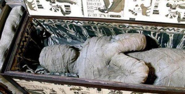 Na época Vitoriana, as pessoas compravam múmias para os feriados