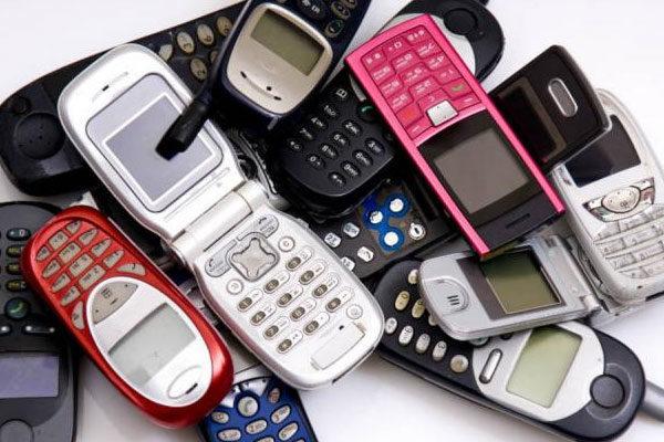 Telefones celulares simples