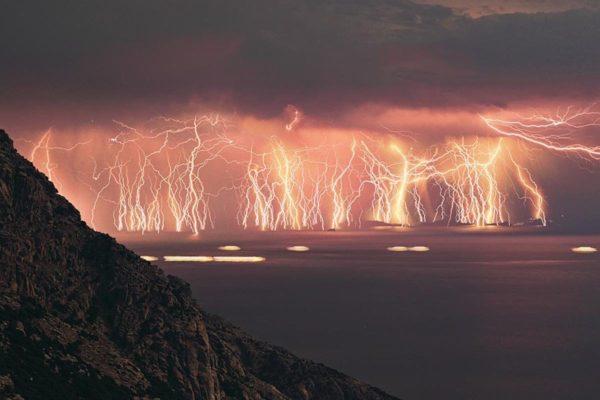 A tempestade interminável