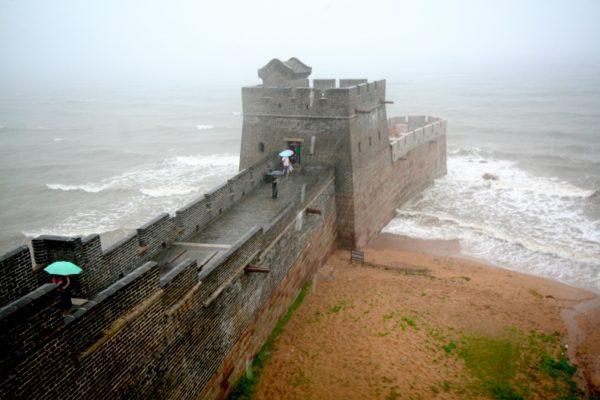 Aqui acaba a Grande Muralha da China