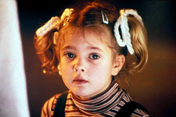 A linda Drew Barrymore no filme E.T. – O Extraterrestre