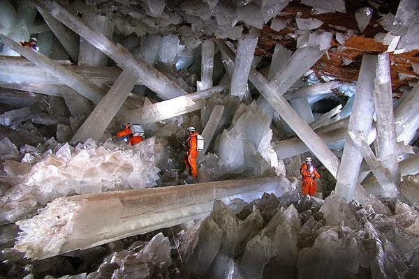 As Cavernas dos Cristais, México