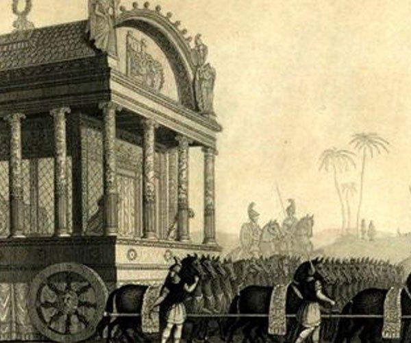 O funeral de Alexandre, o Grande, tem sido o mais caro da história