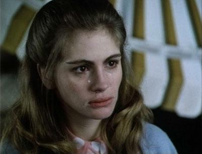 Julia Roberts apareceu pela primeira vez em Crime Story