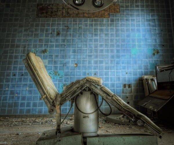 No século XIX, havia hospitais para os mortos