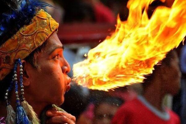 Dragão de fogo