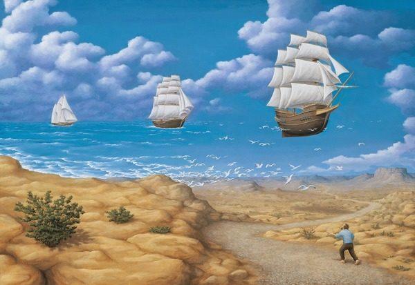 A imaginação ganha a realidade