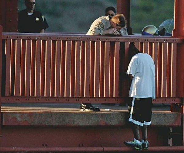 A ponte de São Francisco é a que mais teve suicídios