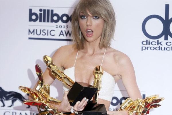 Taylor Swift também possui recordes