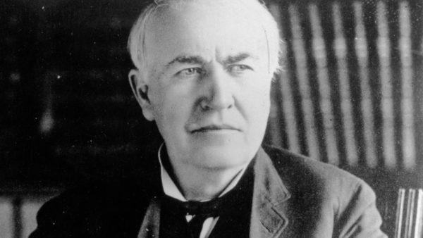 O último suspiro de Thomas Edison foi guardado em uma garrafa