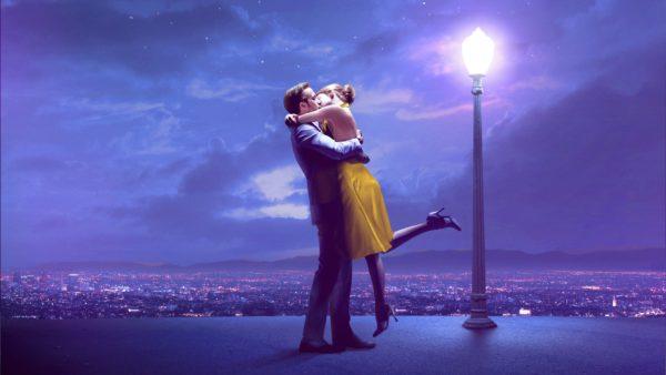 O beijo mais recente é o de LA LA LAND