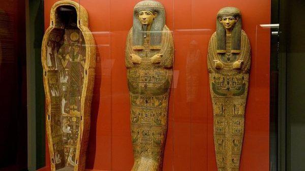 Pedaços de múmias foram vendidas para fazer medicamentos