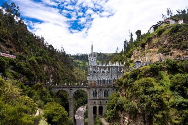O Santuário de Lajas na Colômbia