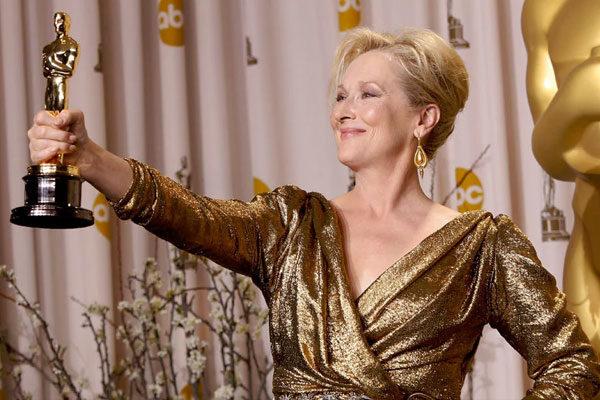 Meryl Streep foi a mais indicada