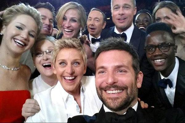 Ellen Degeneres e sua famosa selfie