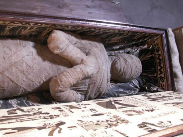Como você faz uma múmia?